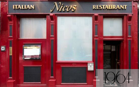 The entrance of the Nico's./All rights reserved