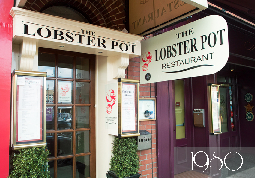 Born in 1980, The Lobster pot is the youngest of that Top./ All rights reserved