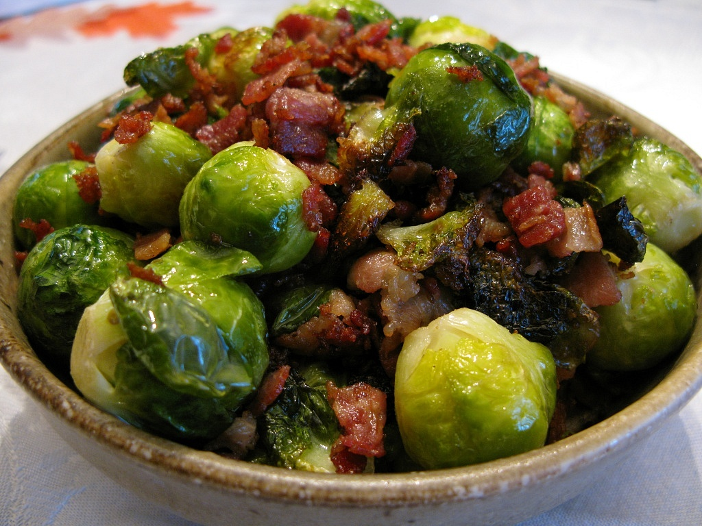 Bacon-brussel-sprouts