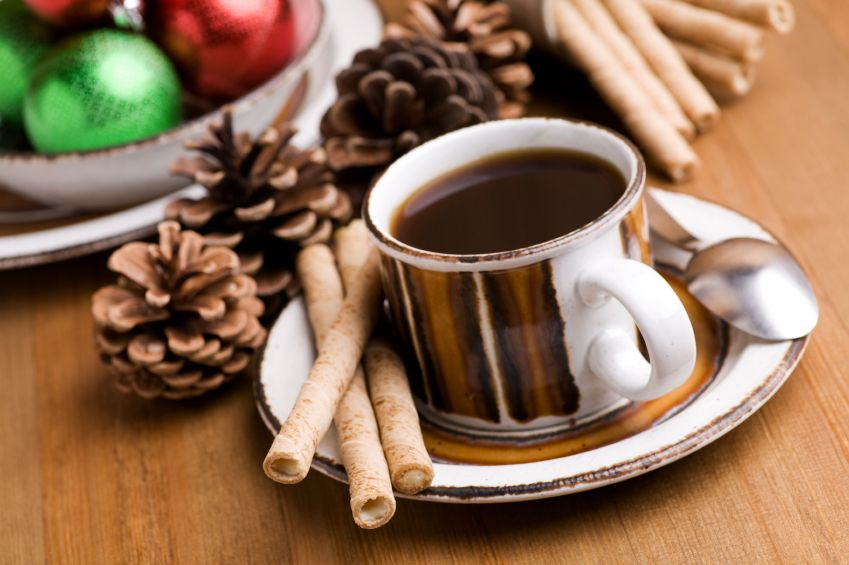 Christmas-coffee-and-wafers