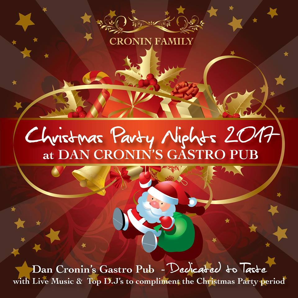 Dan Cronin's Bar & Bistro/Gastro Pub-christmas parties-party-office do-work party