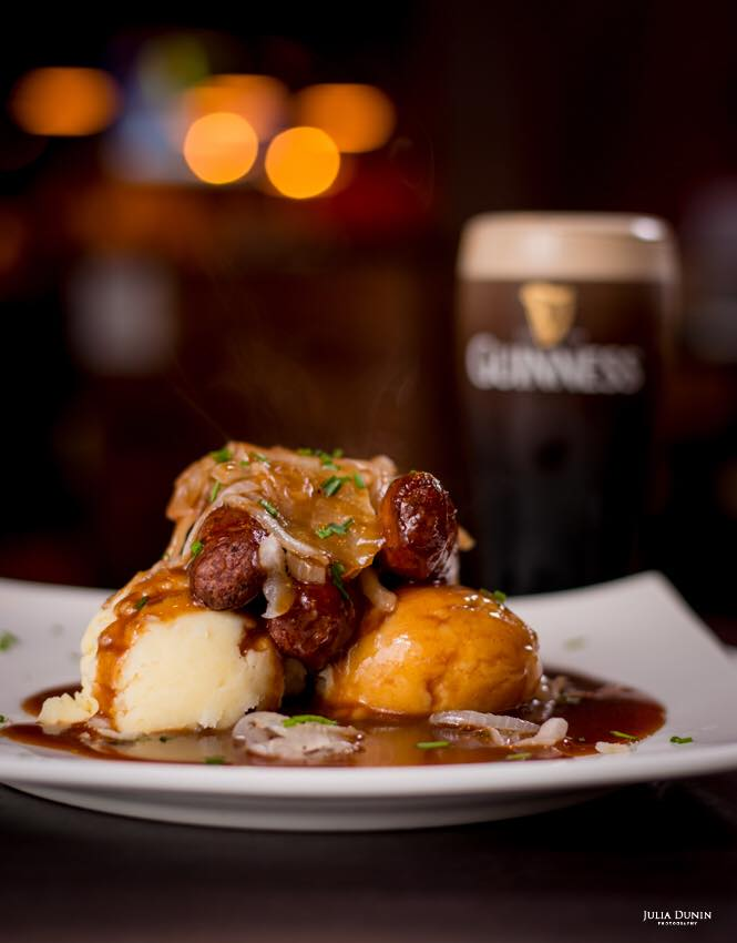 bangers and mash the cellar bar galway cheap student meals
