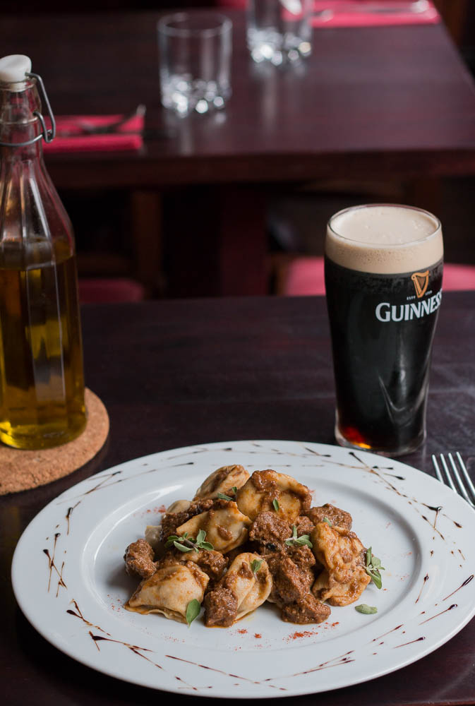 international pasta day-deliveroo-beef and guinness ravioli-