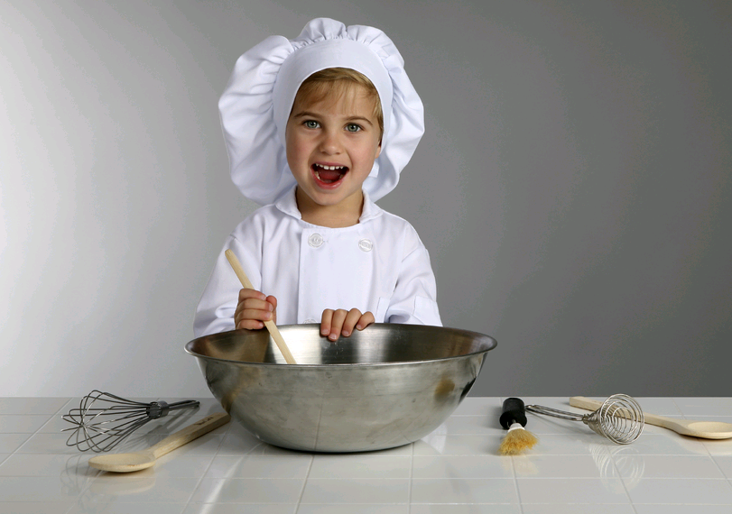 Kids cook-chef-children cook-cookery classes
