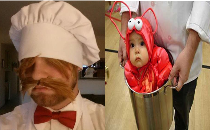 Chef-lobster baby-costume-ideas-halloween