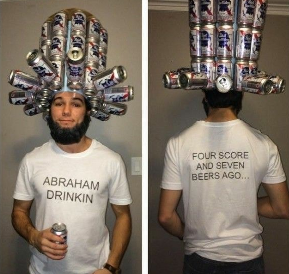 Abraham drinking-costumes-diy-halloween-ideas