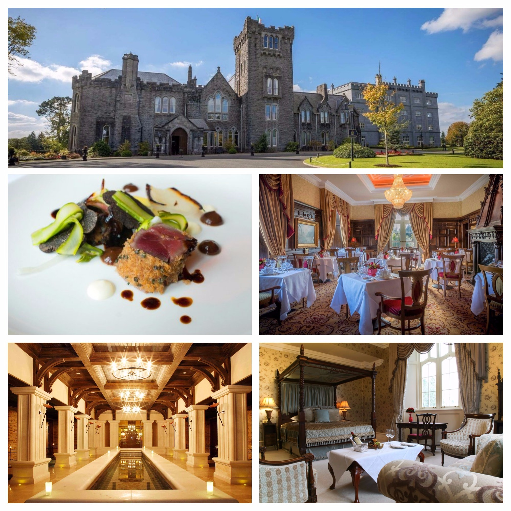 deal of the day-kilronan castle-roscommon-douglas hyde restaurant-5 course meal-castle break-culinary break-staycation