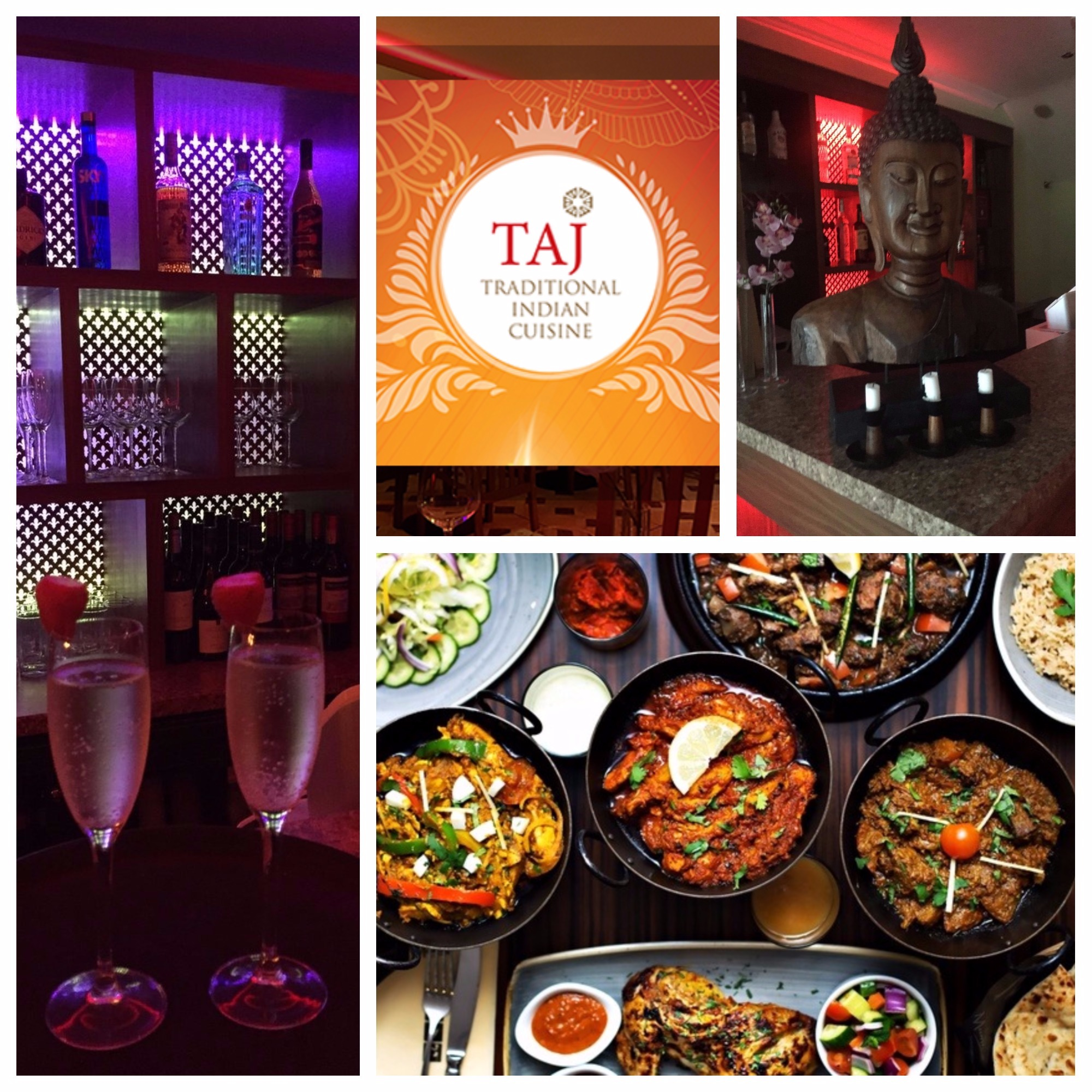 TAJ-TAJ blackrock-deal of the day-blackrock-dine for two-meal for two-eating out in dublin-The Taj-indian cuisine-authentic indian cuisine-indian
