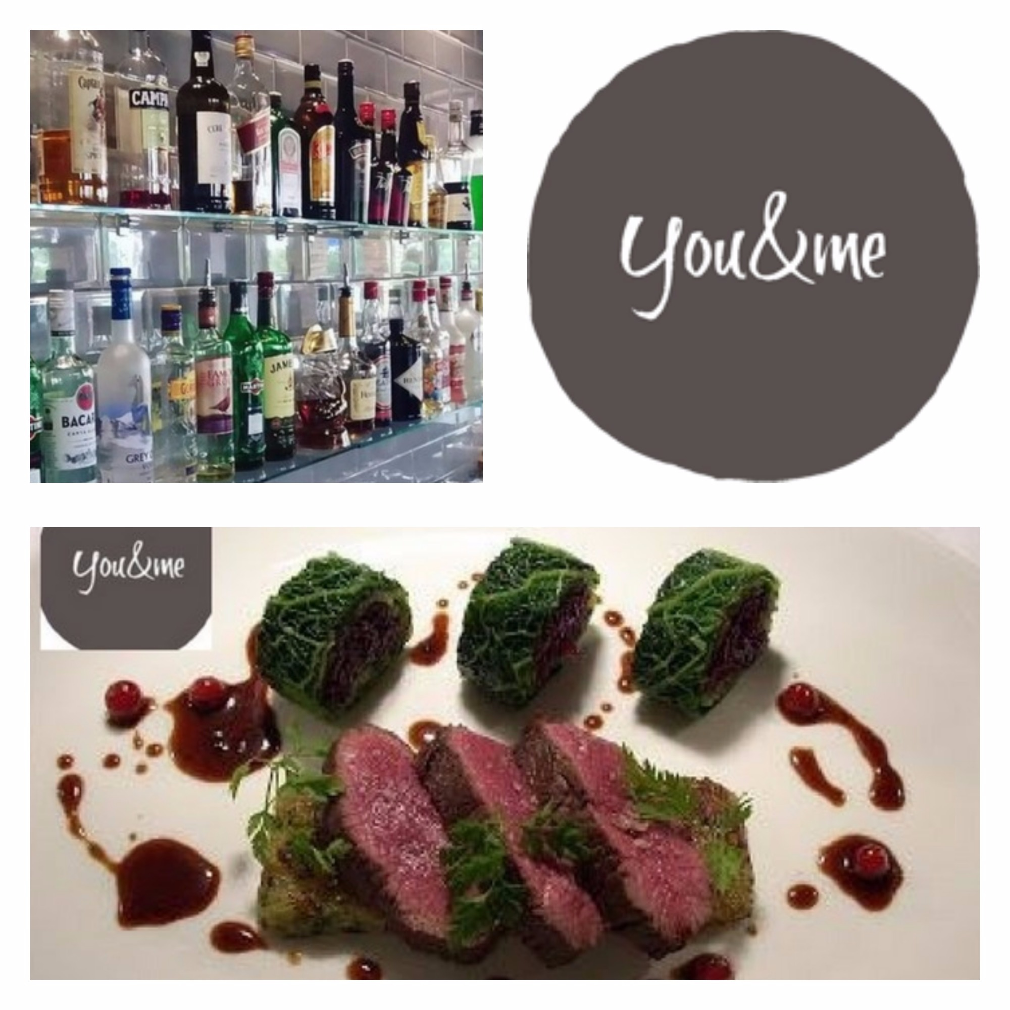you and me restaurant-drumcondra-deal of the day-meal for two-dining out in dublin-menupages